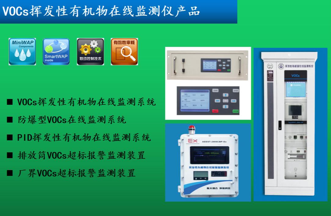 VOCs挥发性有机物在线监测仪产品